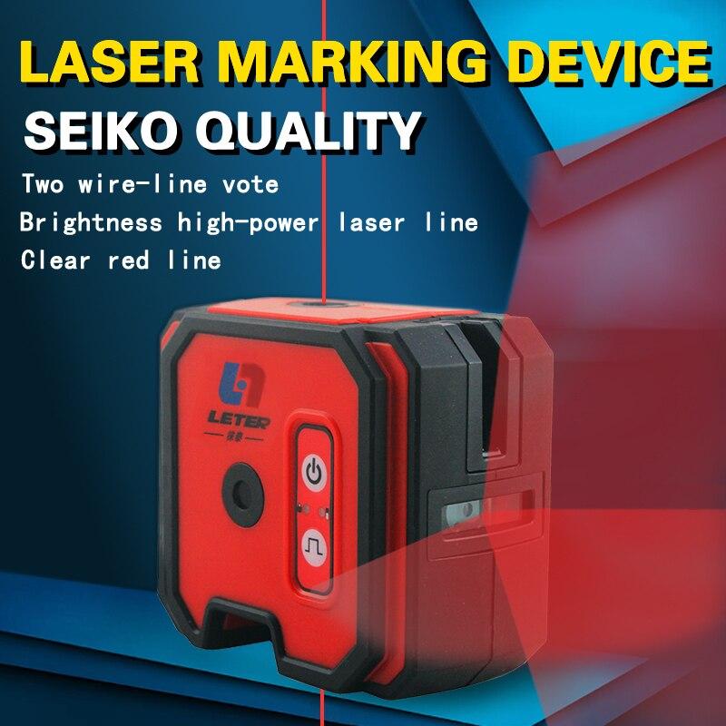 Новый LETER LL2 лазерный уровень Крест лазерной линии