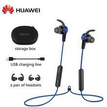Huawei honor xsport bluetooth 4.1 am61 fone de ouvido com proteção nível ip55 design magnético sem fio para xiaomi huawei