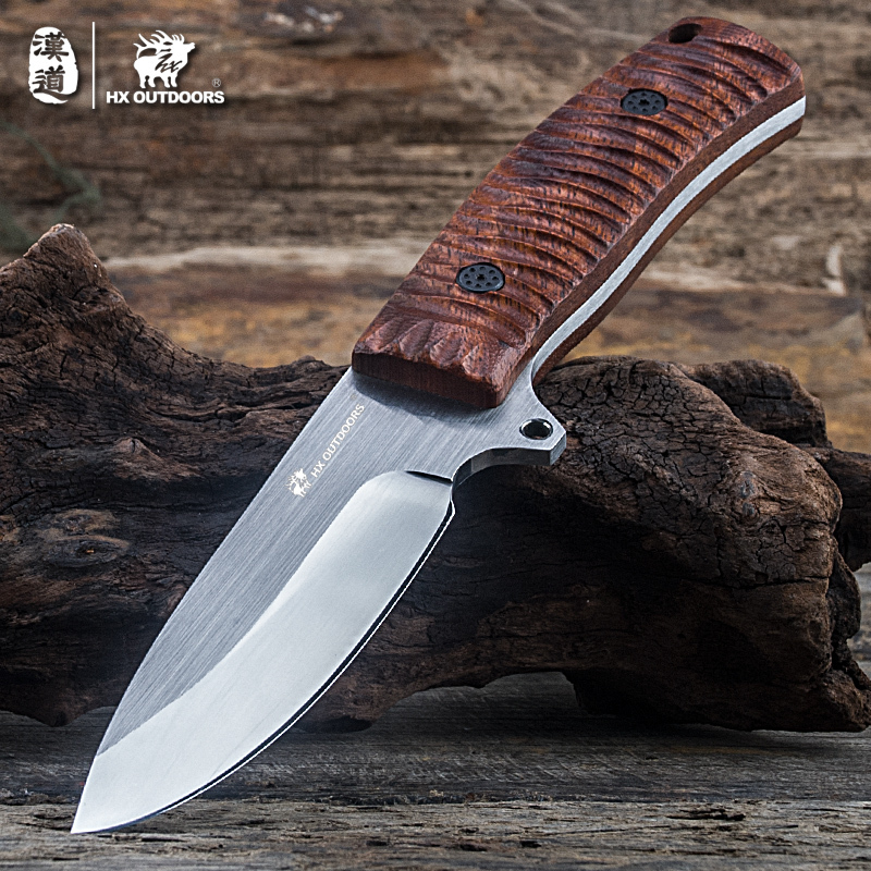 HX OUTDOORS brand Lizard straight knife handle 5Cr15Mov blade knife camping hand tools survival Gear high hardness outdoor tool hx outdoor knife d2 materials blade fixed blade outdoor brand survival straight camping knives multi tactical hand tools