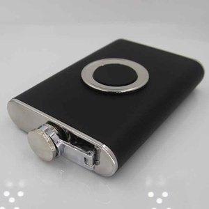 Image 4 - 50 szt. Śrut ze stali nierdzewnej zestaw piersiówek 8 uncji, kolor czarny lub brązowy