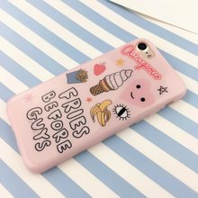 Soft Case: Fries Before Guys  for iPhone 6 6S 7 7+