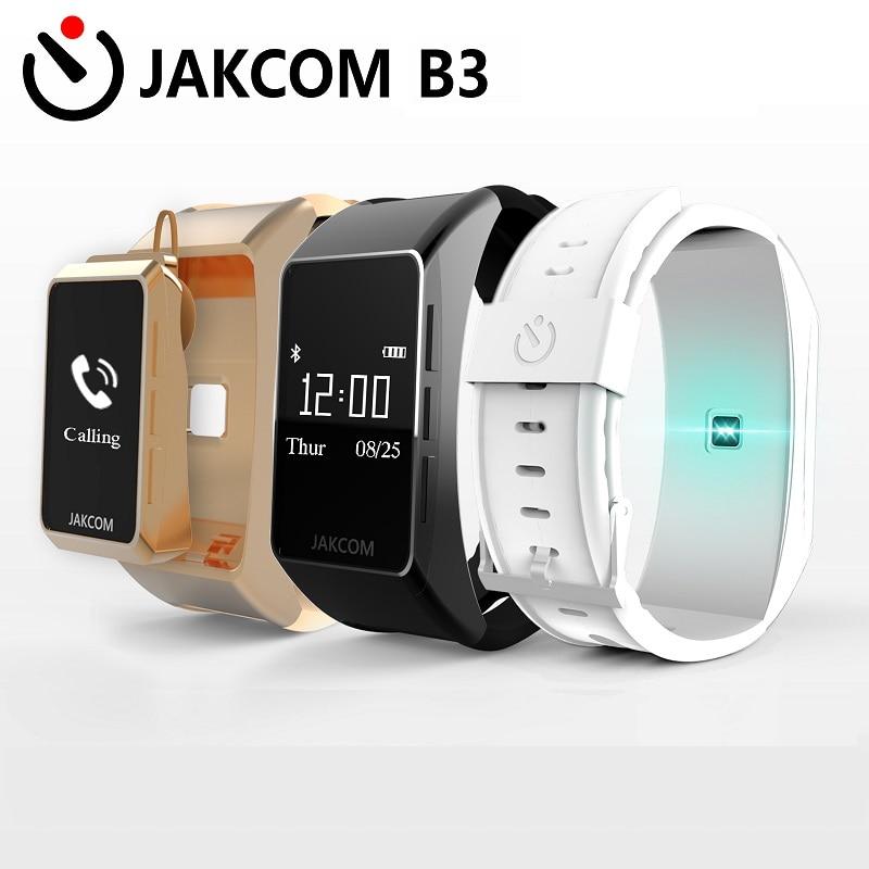 imágenes para Nueva llegada jakcom b3 pulsera inteligente bluetooth pulsera inteligente bluetooth headset pulseras para android/ios teléfonos celulares con la caja