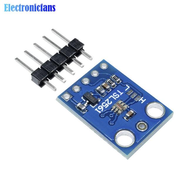 TSL2561 Luminosity Sensor Breakout infrared Light Sensor integrating Sensor Module GY-2561