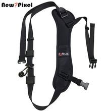 Focus F 1 Quick Rapid Carry Speed Soft Pro Schouder Sling Belt Neck Strap Voor Camera Slr Dslr Black
