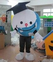 Dünya Dünya Küre maskot kostüm yetişkin için