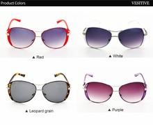 VESITIVE 2017 Luxury brand glasses elegant Women Sunglasses anteojos de sol mujer Sunglasses for Female oculos de sol feminino