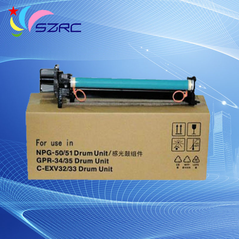 High quality GPR-34/35 NPG-50/51 C-EXV32/33 drum unit compatible for canon IR2520 2525 2530 2535 2545 toner chip for canon ir c4080 c4080i c4580 c4580i copier for canon npg30 npg31 npg 30 npg 31 toner chip for canon npg 30 31 chip