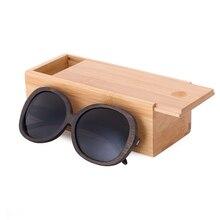 Women Wooden Bamboo Sunglasses