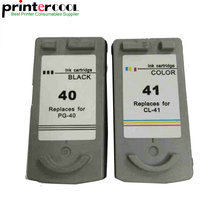 Einkshop PG 40 CL 41 PG-40 CL-41Ink Cartridge For Canon Pixma IP2200 IP1800 MP160 MP180 MP210 MP140 MP150 MP190 MP220 MP450 1 set pg 40 cl 41 refillable ink cartridge for canon pixma mp140 mp150 mp160 mp180 mp190 mp210 mp220 mp450 mp470 printer