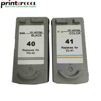 Einkshop PG 40 CL 41 PG 40 CL 41Ink Cartridge For Canon Pixma IP2200 IP1800 MP160 MP180 MP210 MP140 MP150 MP190 MP220 MP450