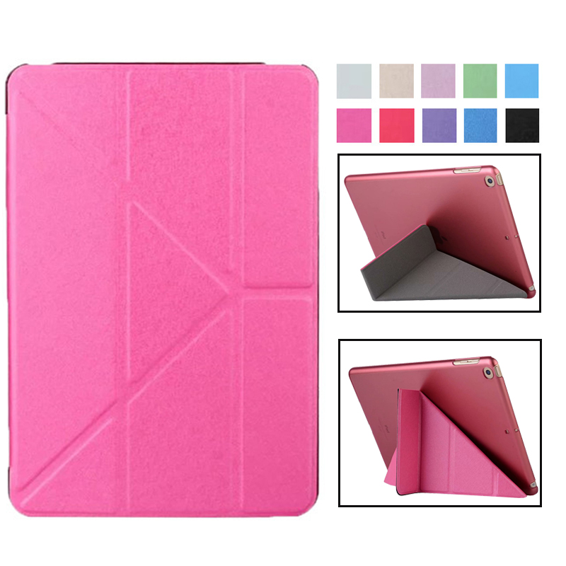 Ultra-Thin Case for IPad Mini 1 2 3 Case PU Leather Stand Cover Elastic Skin Geometry Flip Cover for Apple IPad Mini Case Fundas for apple ipad mini 1 2 3 case tpu soft back cover case for ipad mini 3 2 1 ultra thin transparent silicon case