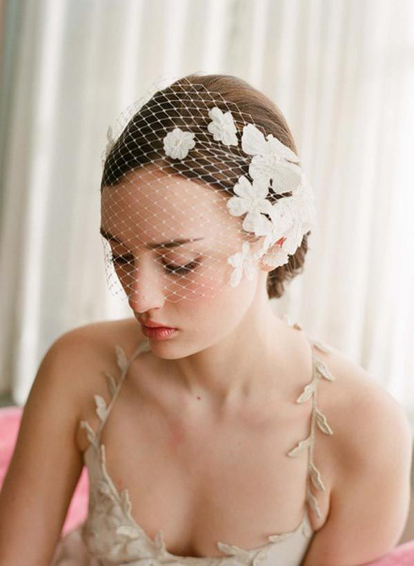 Latest Version Of The White Wedding Hat Veils Lace Veil Hat Hat Wedding Headdress Wholesale Milan