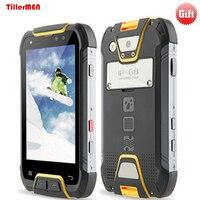 Original Rungee M10 Waterproof Phone 6GB RAM 64GBROM 6500mAh PTT NFC OTG Android 7 Octa Core