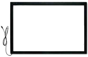 ON SALE! 15 2 points touch screen kit , 15 inch IR Touch Panel/ Frame with glass