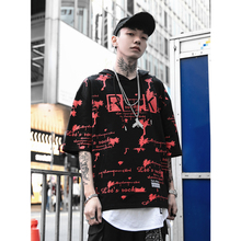 UNCLEDONJM Harajuku Hip hop Casual Hoodies Mens Short Sleeve Hooded Sweatshirts Streetwear 2019 Summer Fashion 286S