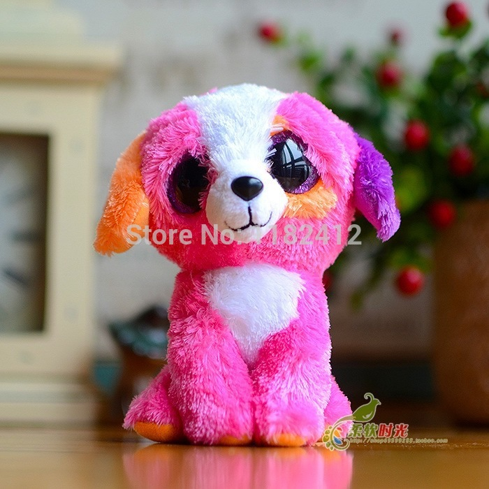 Ty Beanie Boos Dog Plush Toy Cancun Chihuahua Barley Brutus Tucker Precious London Sherbet Houston Lola Big Eyes Stuffed Animals 1