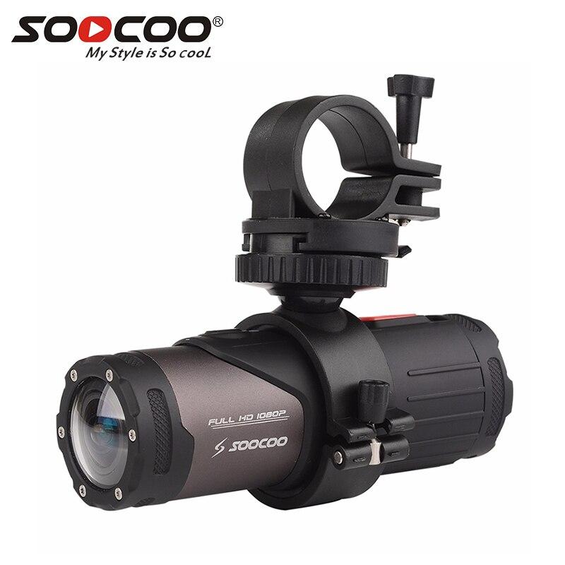 Caméra d'action Mini caméscope SOOCOO S20WS 170 degrés caméra à objectif large intégrée WiFi Full HD 1080 P 10 m caméra de sport étanche
