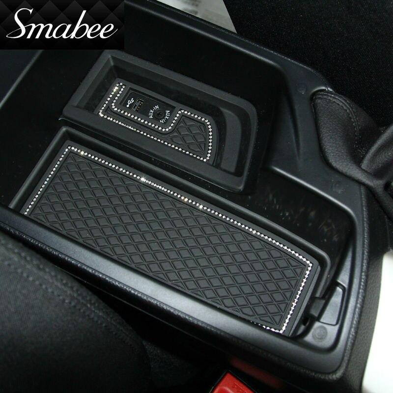 Smabee Kapı Oluk Mat BMW5 520Li 525Li 528Li 530Li Kapısı yuvası - Araç Içi Aksesuarları - Fotoğraf 1