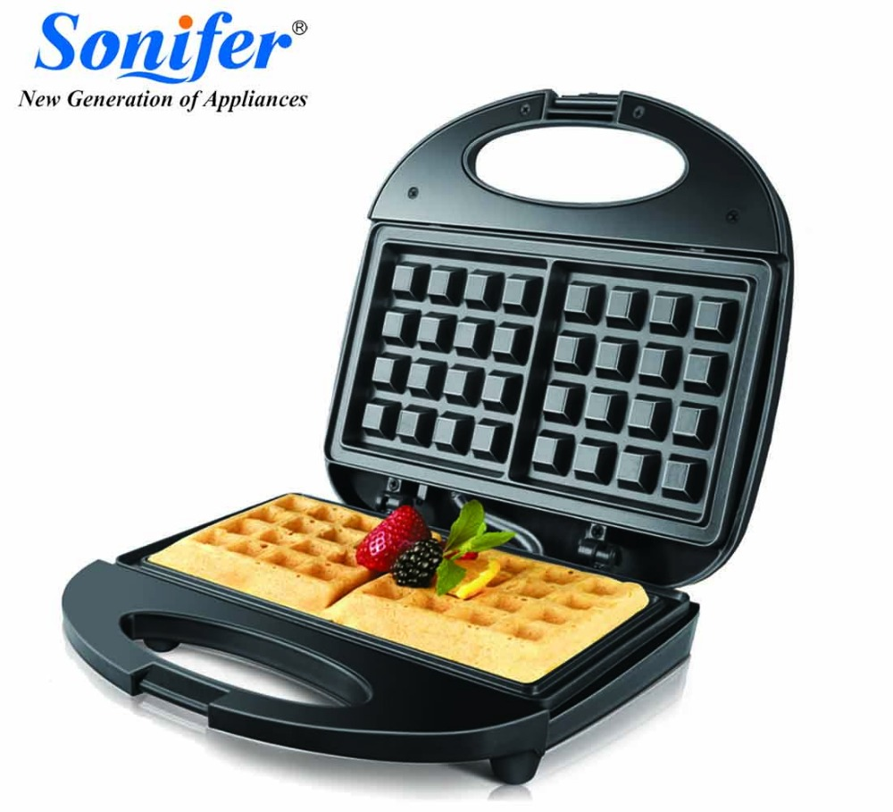 220V Electric Waffles Maker Electric Sandwich Iron Machine Bubble Egg Cake Oven Breakfast Machine Sonifer 220v original colorful electric sandwich maker electric sandwich iron machine bubble egg cake oven breakfast machine sonifer