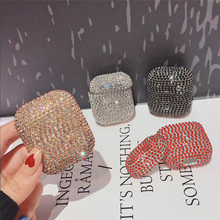 Luxury color Diamonds Stars For airpods case Wireless Bluetooth Earphone 2 Fashion Cases Hard Charge Protection Pack