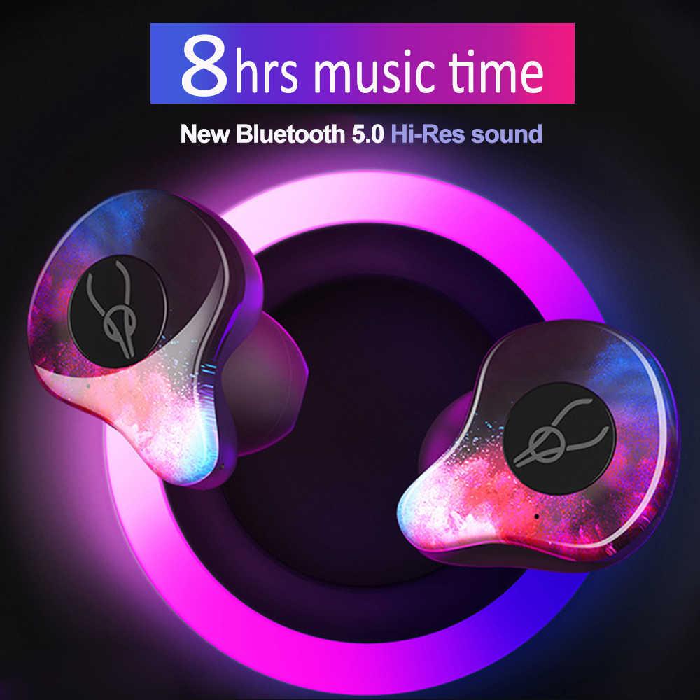 Sabbat True Wireless Earphones IPX5 Sweatproof Sports Wireless Earbuds  Hi-Res 3D Stereo Noise Cancelling V5 0 Bluetooth Earphone