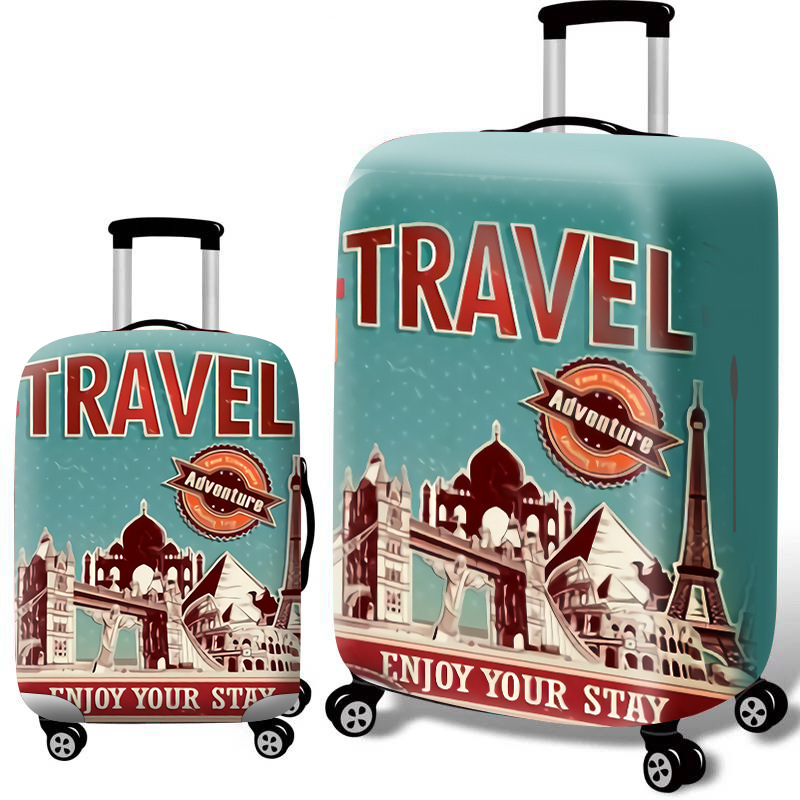 Luggage-Case Protective-Cover Travel-Accessories Thicker Elastic 18''-32'' Apply-To