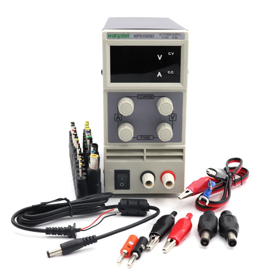 KPS 1505D mini adjustable DC regulated power supply 15V/5A notebook repair aging plating electrolysisKPS 1505D mini adjustable DC regulated power supply 15V/5A notebook repair aging plating electrolysis