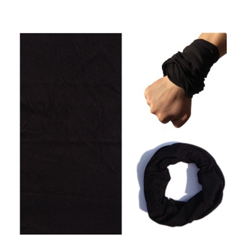 Customized Braga Cuello Women Bandana Solid Color Foulard Moto Muslim Wrap Scarf Men Scarves Buffe Shemagh Military Neck Gaiter