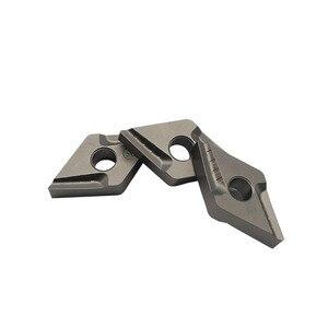 Image 5 - 10 pces dnmg150404 r vf ct3000 ferramentas de torneamento externo cermet grau carboneto inserção torno ferramenta tokarnyy torneamento inserção