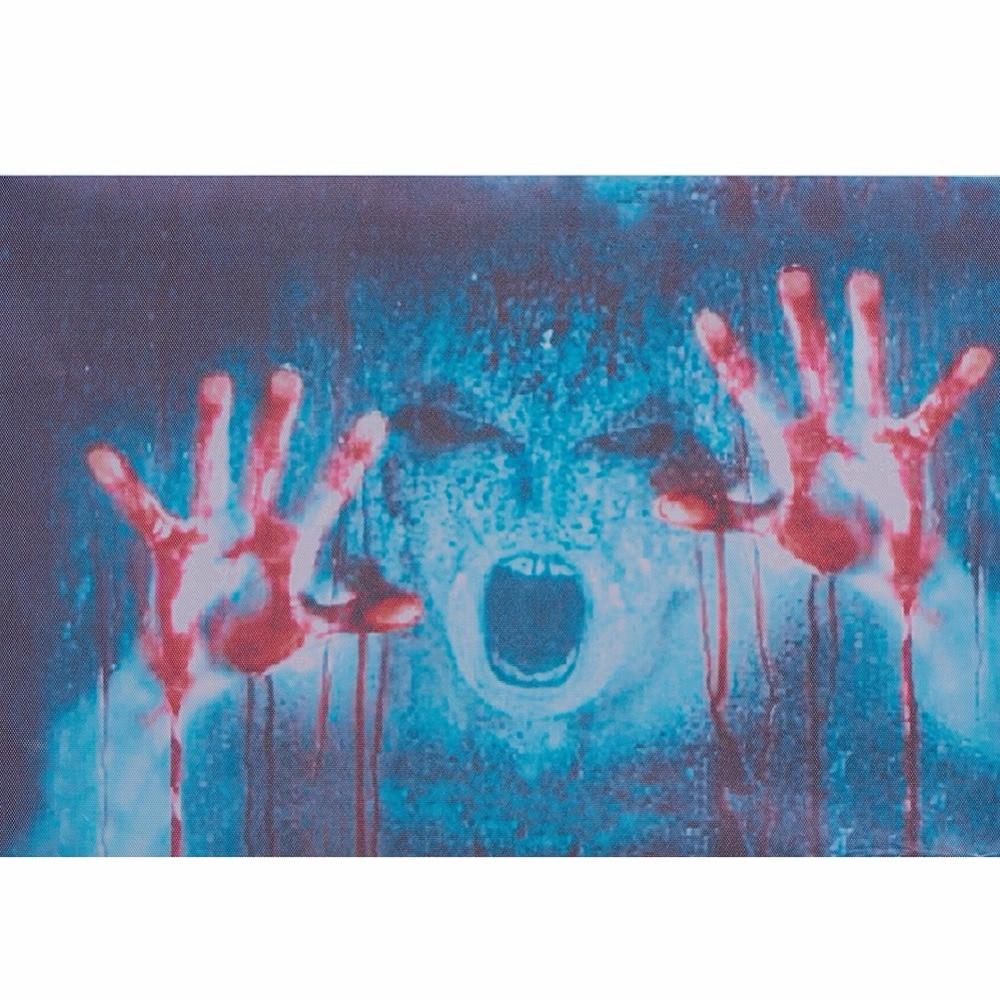 Halloween Decor Sticker 3D Transparent Car Back Rear Window Decal Vinyl Sticker Horror Monsters Zombie
