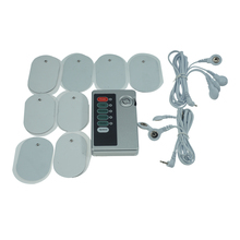 Multi electric shock paste breast exciter physical therapy nipple paste pads electro stimulation medical themed sex toys