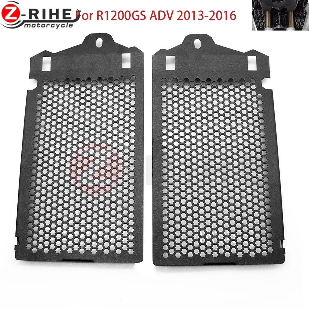 R1200GS Motorcyklar Radiator Grill Guard Cooler Skal till BMW R 1200 GS GSA ADV LC WC 2013-2016 13 14 15 16 eftermarknad