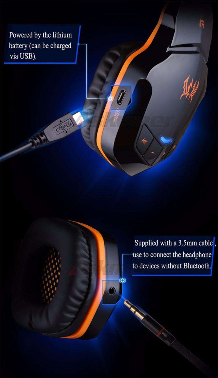 EACH B3505 Wrieless Bluetooth 4.1 Stereo Headphone Headband Earphone Headset with Mic for iPhone 6iPhone6 Plus Samsung (11)