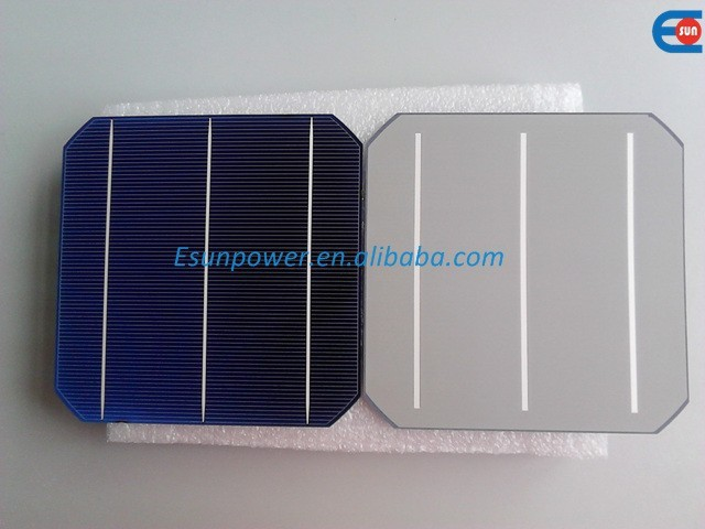 Promotion!!! 50pcs 20.4% 5W 156mm 3BB molycrystalline Solar cell for DIY solar panel