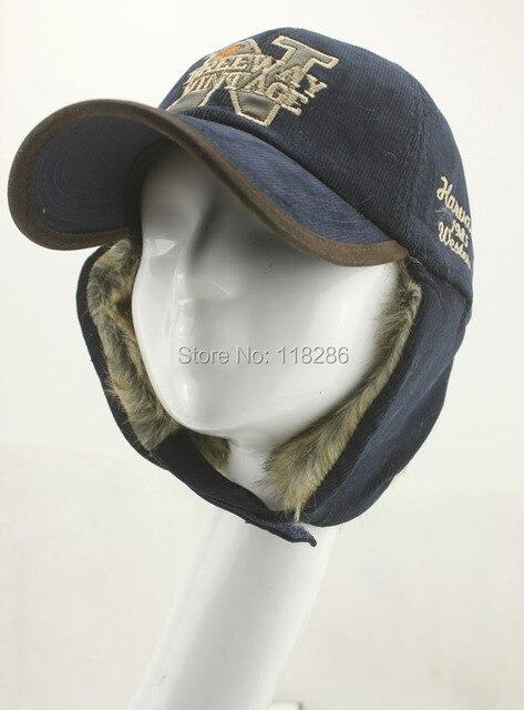 Winter Femal Male Earmuff Casquette Peaked Cap Letters Embroidery Warm Faux Fur Outdoor Visor Hat Earflap Baseball Cap