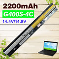 2200mAh laptop battery for Lenovo Thinkpad L12L4A02 L12L4E01 G400s G405s G410s G500s G505s G510s  S410p S510p Z710 Touch Series