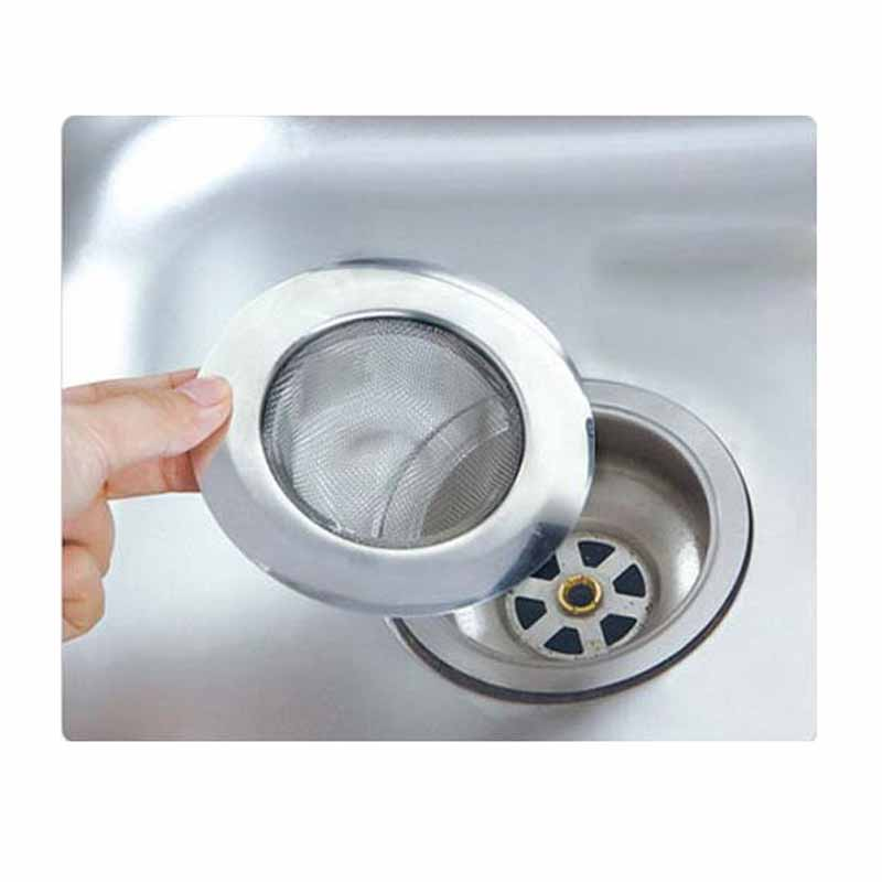 stainless steel sewer filter bathroom drain outlet kitchen sink filters anti clogging floor drain net. beautiful ideas. Home Design Ideas