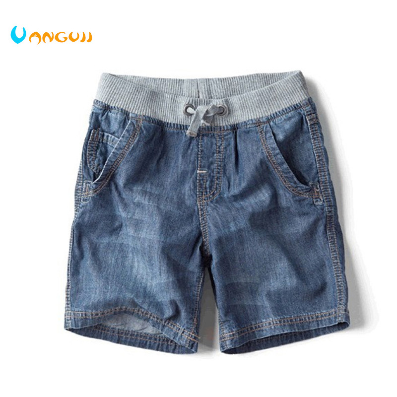 The New Children's Summer Children's Brand Jeans Denim Shorts 2014 Hot Fashion Boy Shorts londinas ark store hot style summer high waist denim riveted scratched shorts jeans sexy fashion straight frazzle women pants