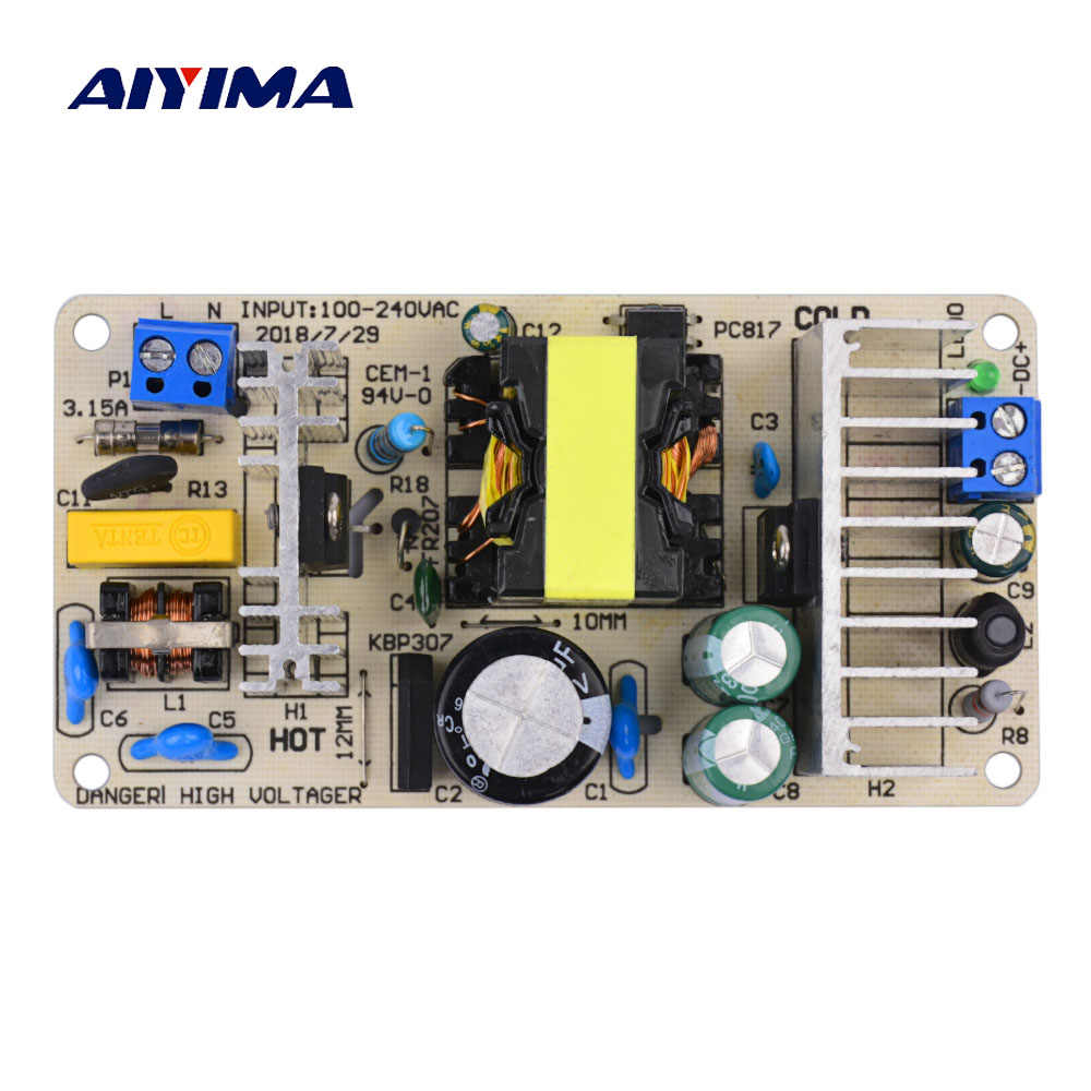 AIYIMA Isolate 36V 3A Switching Power Adapter AC100-240V To DC36V 100W Voltage Stabilizer Circuit Protection Universal Board