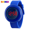 2017 SKMEI popular brand watches women lady girl men sport digtal LED wristwatches 30m waterproof blue white dials rubber band