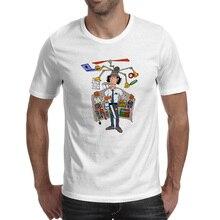 Inspector Gadget T-shirt Cartoon Fashion Rock Design T Shirt Punk Style Creative Women Men Top