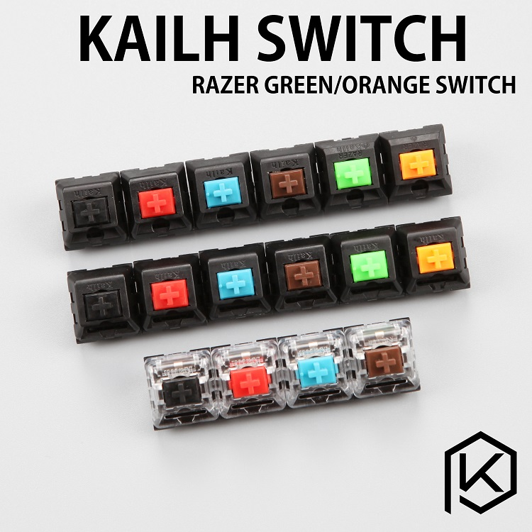 Kailh Switch 3pin  Blue Red Black Brown Green Orange  For Custom Mechnical Keyboard Xd64 Xd60 Eepw84 Gh60 Tada Rgb 87 104 Zz96