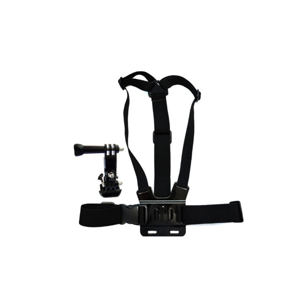 цена на Hot Mount Adapter Camera Tripod Chest Strap Elastic Body Adjustable Shoulder Strap for GoPro HD Hero 5 4 3 2 1