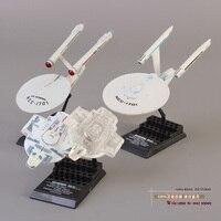 Star Trek Mini Spaceship PVC Action Figure Model Toy Set Of 3