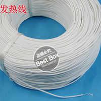 Fil silastique Flexible de Trace de réchauffeur de Gel de silice de câble chauffant en caoutchouc de silicium de 12V ~ 220V 2mm pour la voiture/batterie de Protection de Gel