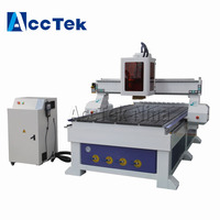 Top sale ATC 1325 CNC Router woodworking cabinet wood Carving machine T slot Table