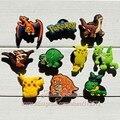 Frete Grátis 60 pcs Lot Pokemon PVC sapato decoração/encantos da sapata do PVC/acessórios da sapata para tamancos