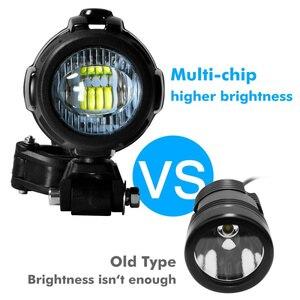 Image 3 - Faduies motocycle luzes de nevoeiro para bmw motocicleta led auxiliar nevoeiro luz condução da lâmpada para bmw r1200gs/adv k1600 r1200gs f800gs