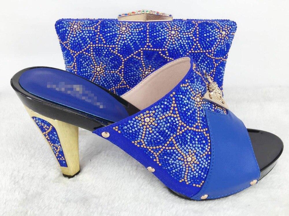 ФОТО Fashion Design Italian Matching Shoe And Bag Set African Wedding Shoe And Bag Sets Women Shoe and Bag To Match