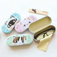 Cartoon Cat Glasses Case  Lovely High Quality Hard Cute Eyeglass Sunglasses Protector Box Girls Spectacle